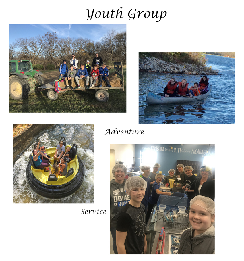Youth Group:  Adventure, Service