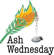Ash Wednesday service at 7 PM