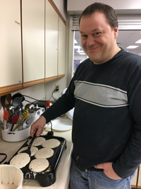 We celebrated Fat Tuesday iwth lots and lots and lots of pancakes.