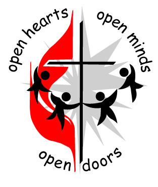 UMC logo - Open Hearts, Open Minds, Open Doors